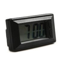 Car Truck Dashboard Digital LCD Display Quartz Clock Time & Date Adhesive Pad