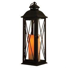 battery powered garden d cor candle lanterns for sale ebay rh ebay com