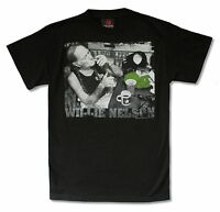 Willie Nelson Legalize It Mens Black T Shirt New Official