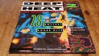 Various – Deep Heat 2 - The Second Burn 2 × Vinyl LP Compilation 33rpm 1989