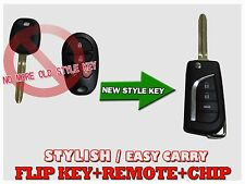 New Replacement Flip Key Remote Key Fob For Toyota Sienna G Chip GQ43VT20T KSN1