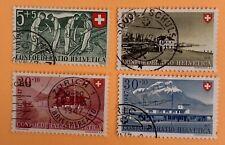 Switzerland 1946 Pro Patria Stamps Used