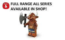 Lego minifigures minotaur series 6 (8827) unopened new factory sealed