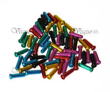 NEW ALLIGATOR INNER CABLE END CAPS TIPS BRAKE SHIFTER, 60pcs (10pcs x 6 Colors)