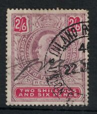 SOUTH AFRICA, CAPE OF GOOD HOPE, KEVII 2/6 REVENUE STAMP, FINE USED.