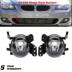 Front Fog Light Lamp Housing For BMW E60 525I 528I 530I 545I 550I M5 2004-2010