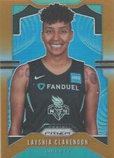2020 WNBA PANINI * LAYSHIA CLARENDON ORANGE PRIZM PARALLEL CARD 04/65 NY LIBERTY