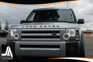 Land Rover Discovery Headlight halo ring conversion upgrade LED facelift mod