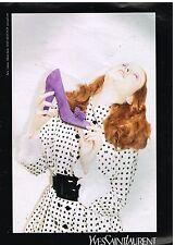 Publicité Advertising 2005 Haute couture Les Chaussures Yves Saint Laurent