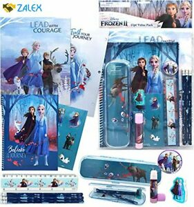 Disney Frozen All You Need for School Stationery Gifts Set - Pencils Eraser Note