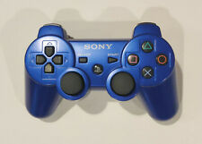 Blue Genuine OEM Sony Playstation 3 PS3 Sixaxis DualShock 3 Controller CECHZC2U