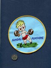 "Large VA-75 SUNDAY PUNCHERS 6"" US NAVY A-6 INTRUDER Attack Squadron Patch"