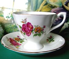 Giftcraft English Bone China Teacup and Saucer Set