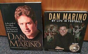 Dan Marino book - Lot of 2
