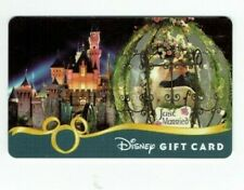 DISNEY Gift Card - Just Married / Cinderella Carriage & Castle Night - No Value