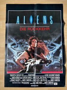 Filmposter * Kinoplakat * A1 * Aliens - Die Rückkehr * 1986 * Sigourney Weaver
