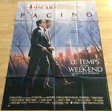 AFFICHE CINEMA 9412 - LE TEMPS D'UN WEEK-END - AL PACINO - 120/160