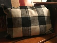 Black white buffalo check pillow rectangle new homemade house decor bedroom kid