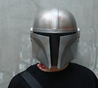 Mandalorian Helmet Cosplay Star Wars Face Adult Darth Vader Yoda Halloween Props