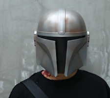 Mandalorian Helmet Cosplay Star Wars Face Adult Darth Vader Yoda Halloween Props