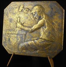 Médaille le coin L Duval & L Janvier artistes graveurs médailleur art of Medal