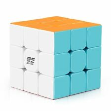 QiYi Warrior W 3x3x3 Magic Cube Stickerless Smooth Twist Speed Cube Puzzle