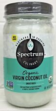Spectrum Organic Virgin Unrefined Coconut Oil 14 oz