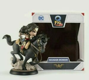Wonder Woman on a Horse Q-Fig MAX Movie Figure by Quantum Mechanix QMX - IN HAND