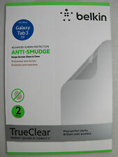 2 Pack BELKIN TrueClear Anti-Smudge Screen Protector Galaxy Tab 3 7.0 [F00]
