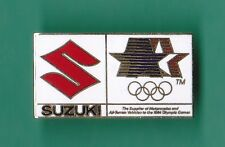 1984 Los Angeles Summer Olympic Games Suzuki Pin