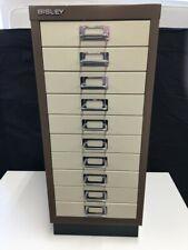 BISLEY 10 Drawer File Metal Cabinet - CS S76