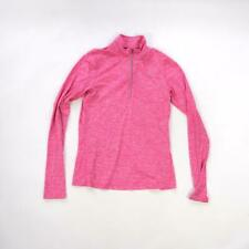 Nike Dri fit running women pink long sleeve activewear training top Small size