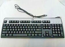 Hewlett Packard KU-0316 USB Wired 104-Key Layout Keyboard ( Black/Silver)