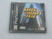 Grand Theft Auto Sony PlayStation 1 1998 Cib Complete Video Game Tested Ps1
