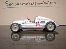 CMC M 090 Auto union Type D 1938/39 GP France 1939 #14 Silver 1:18