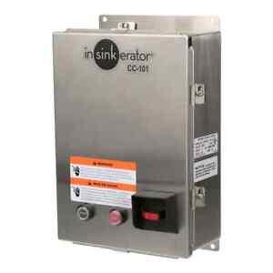 InSinkErator [15254B] CC101K-7 Control Center For CC101 Disposers, 208/240v 3ph