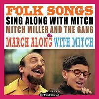 Mitch Miller - Folk Songs / March Along With Mitch (NEW CD)