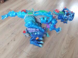 Imaginext Ultra Ice T Rex Dinosaur Lights And Sounds (2)