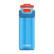 Kambukka Elton Water Bottle 500ml, Caribbean, BPA Free with 3-in-1 Snapclean Lid
