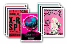 More details for x ray spex - 10 promotional posters  collectable postcard set # 1