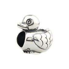 Retired Pandora Silver .925 Bead Charm Jewelry Ducky