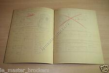 Réédition du Supplément du Cahier brouillons dessin croquis Tintin (Hergé)
