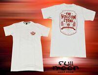 New Volcom Old Russ Stone Short Sleeve Mens T-Shirt