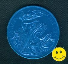 "1973 Mermaid - Seahorse Fish "" Fantasy Of The Sea "" Mardi Gras Doubloon *"