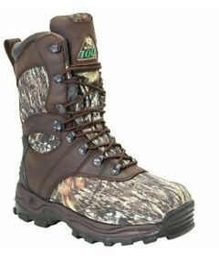 "Rocky Sport Utility Max 1000G 9"" Insulated WP Winter Hunting Boots Mens 13M NEW"