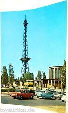 Tour radio avec Palais Berlin Carte postale De 50 Années 60 années 11 å