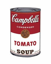 Campbell's Soup I Tomato, 1968 by Andy Warhol Art Print Pop Poster 11x14