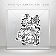 Sticker Decal Aztec Creature Car Motorbike Bike Garage bike st5 X397W