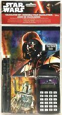 Disney Star Wars The Dark Side 6 Pc Calculator Stationery Set Pencils Notepad 36