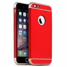 Luxury Ultra-thin Shockproof Armor Back Case Cover for Apple iPhone 5 6s 7 Plus Red iPhone 7